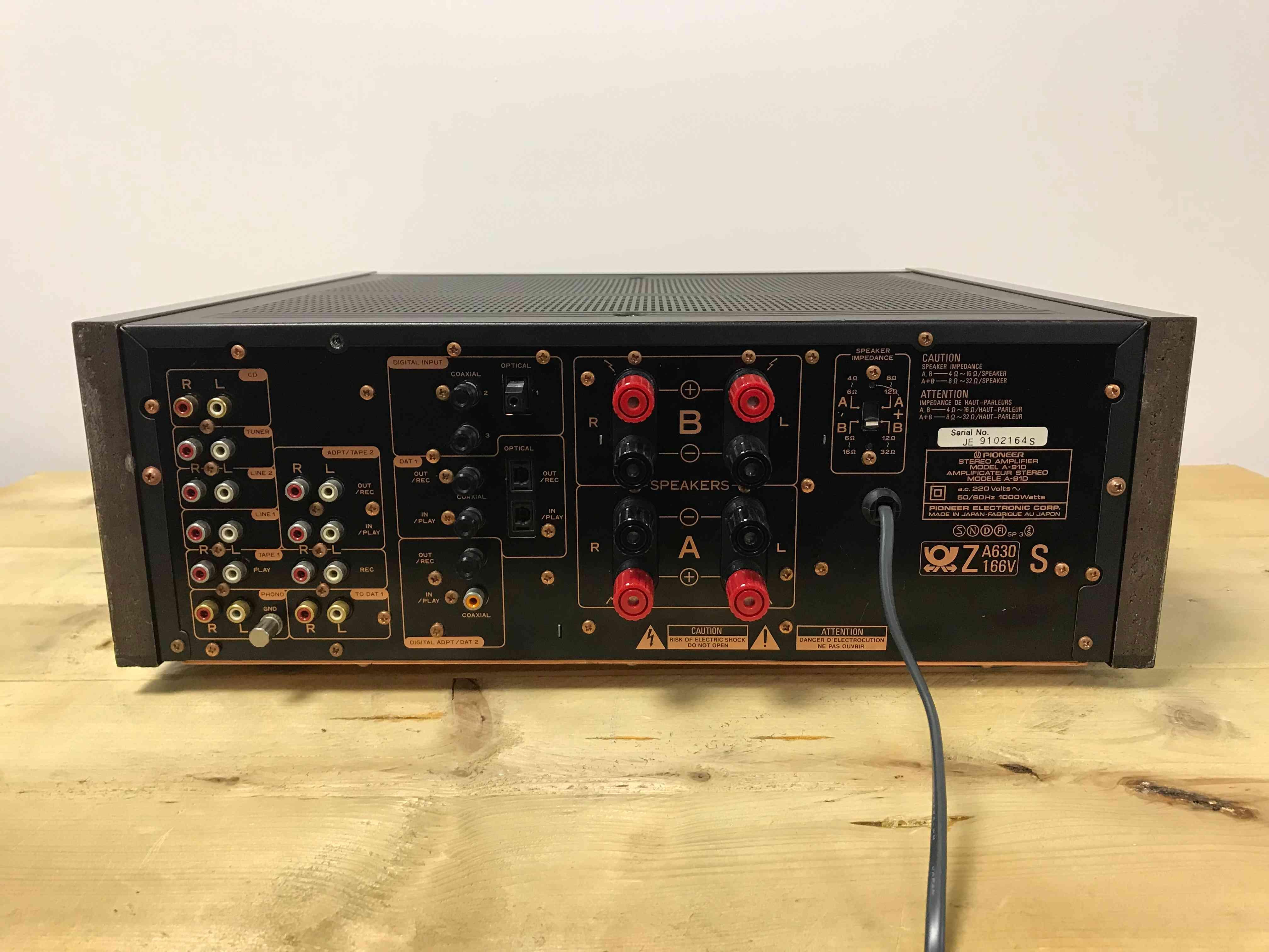 Pioneer A-91D | W&W Audio